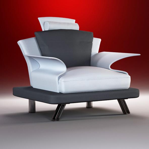 Super Roy nojatuoli niskatyynyllä 105 cm