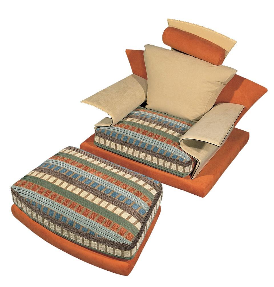 Super Roy nojatuoli ja rahi 105 cm useilla väreillä