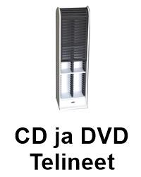Cd ja Dvd telineet