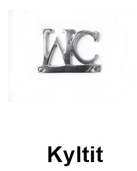 Kyltit- WC,Toilet,Towels...