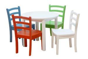 Lasten tuolit ja pöydät