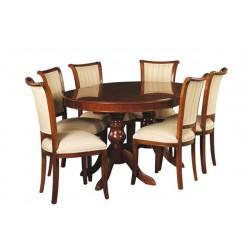 Tyylikalusteiden ruokapöydät ja ryhmät