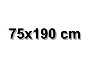 75x190 cm