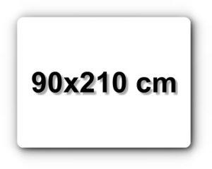 90x210 cm