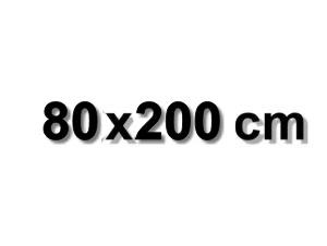 80x200 cm