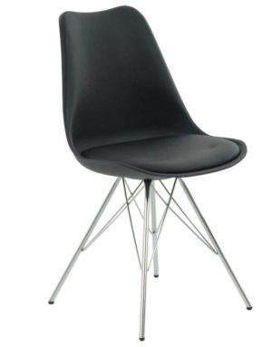 Metallijalkaiset tuolit