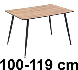 Ruokapöydät koossa 100-119 cm