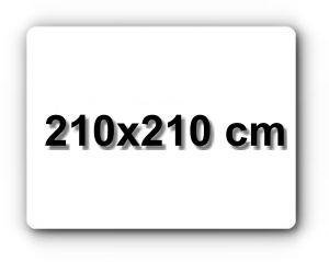 210x210 cm