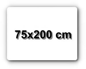 75x200 cm