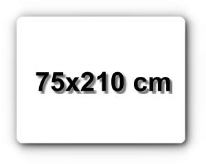 75x210 cm