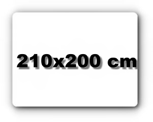 210x200 cm