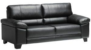 3 ist sohvat nahkaverhoilulla